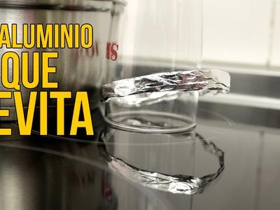 El aluminio que levita (Experimentos Caseros)