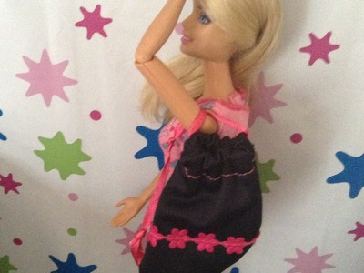 EPISODIO 83.Como hacer mochila para barbie y monster high