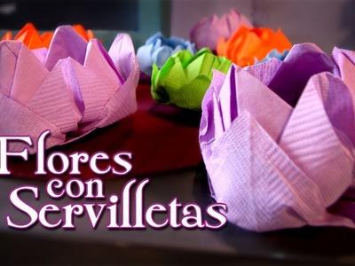 Flor de Loto en servilletas - Episodio 12: Crafting Studio