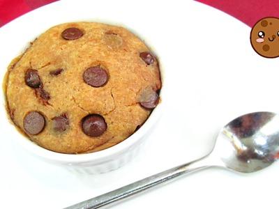 Galleta Chocolate Chip en 1 Minuto!! | Microondas