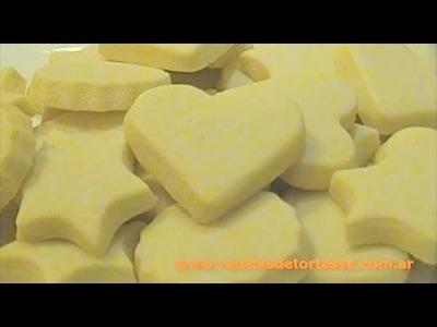 Galletitas de Manteca - Masa Sablée - Galletas de Mantequilla - Recetas de Tortas YA!