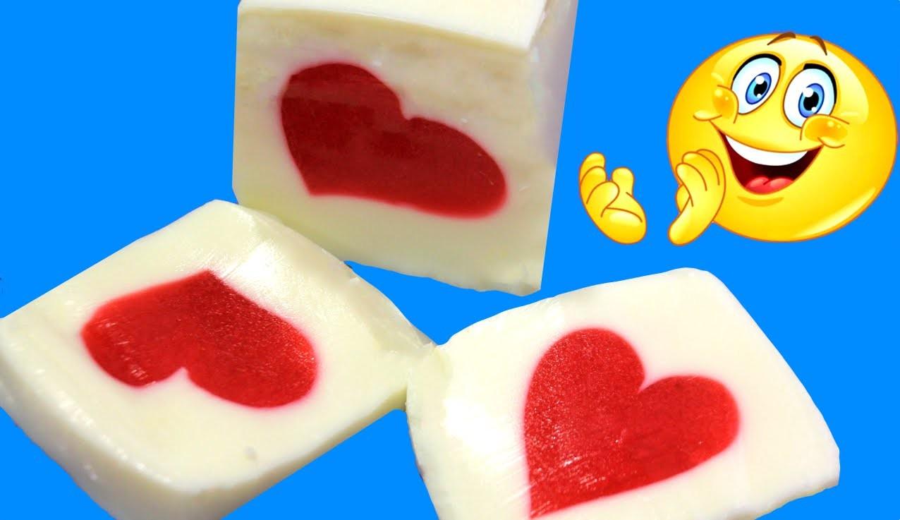 Gelatina sorpresa. Valentine's jello de IDEAS PARA FIESTAS