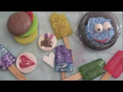 Jabones Cami, jabón de glicerina, moldes, esencias, colores, aditivos
