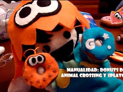 Manualidad: Donuts de  Animal Crossing y Splatoon con EspalTino, el GAMER