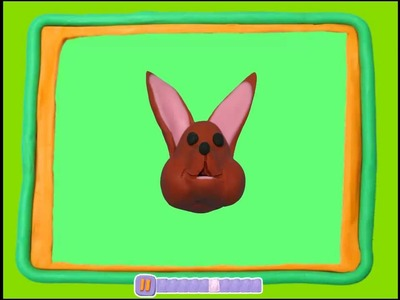 Manualidades con Plastilina: conejo de plastilina