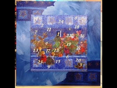 Manualidades Navideñas - Calendario de adviento - Conny