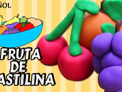 Play Dough Fruits | Cómo Hacer plastilina Play Doh frutas | Play Doh Spanish