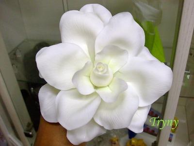 Porcelana fria Flores & Modelling cold porcelain flowers