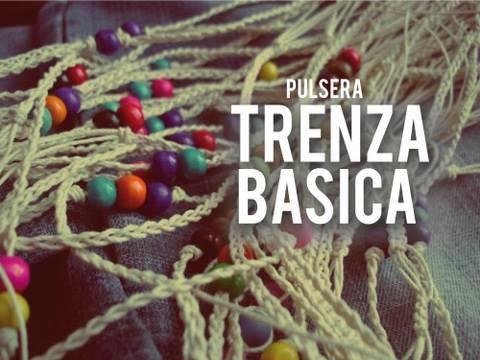 Pulsera: Trenza basica  [SUPER FACIL]