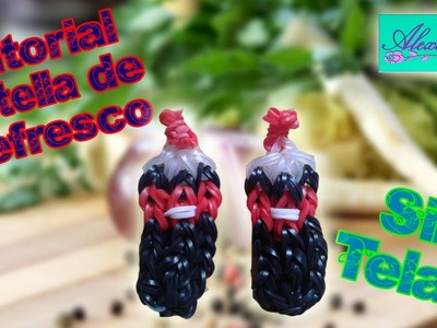 ♥ Tutorial: Botella de refresco de gomitas (sin telar) ♥