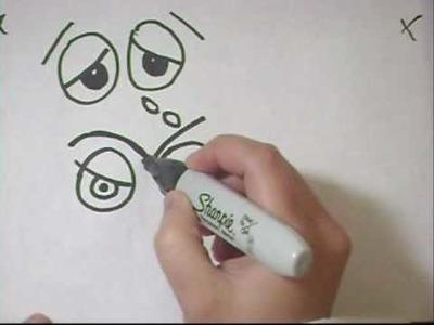 Tutorial de dibujo de ojos expresivos  Parte 3 (intermedio) - Remplazo para ojitos moviles