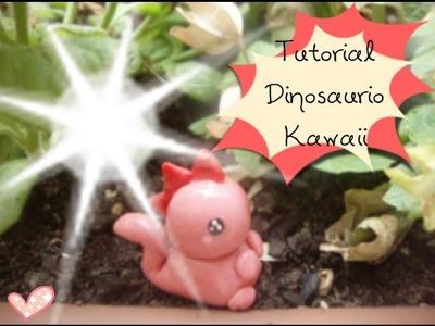Tutorial Dinasaurio Kawaii (Porcelana Fría.Arcilla) - CranftndColor♥