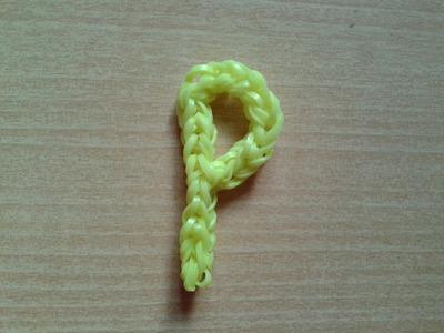 ♥ Tutorial: letra P hecha con gomitas ♥