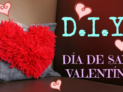 #3 D.I.Y. COJÍN DECORADO | SAN VALENTÍN ♥