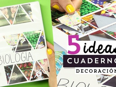 5 ideas fáciles para decorar tus cuadernos o libretas. MegaTuto ✎ Craftingeek