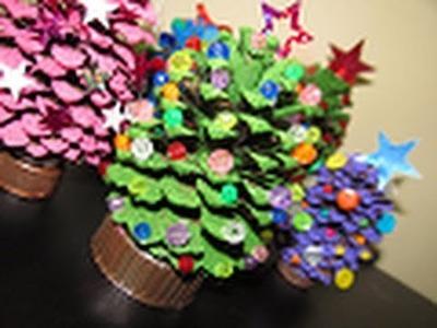 Arbolitos Navideños Ecológicos (decorativos)