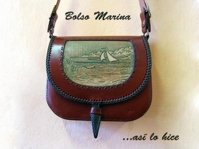 Bolso Marina, así lo hice.
