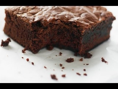 BROWNIE de CHOCOLATE (rápido y muy fácil!)