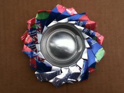 Cenicero con latas [Reciclaje]