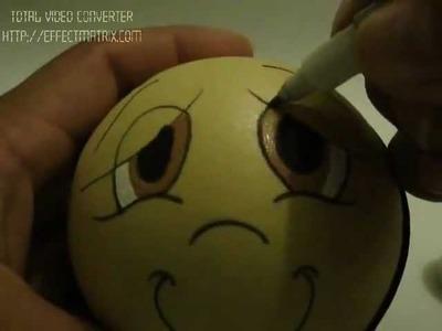 Como hacer los ojos de una fofucha, por Karytex.