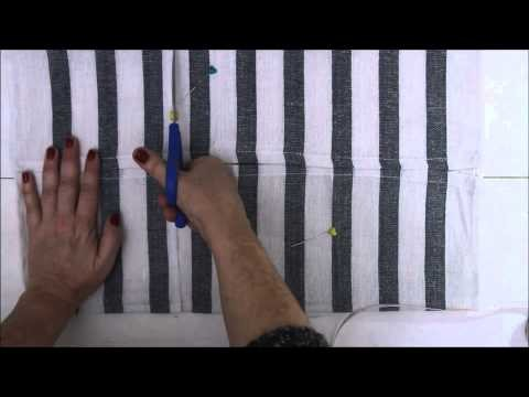 Cómo hacer una bolsa de tela para repostería