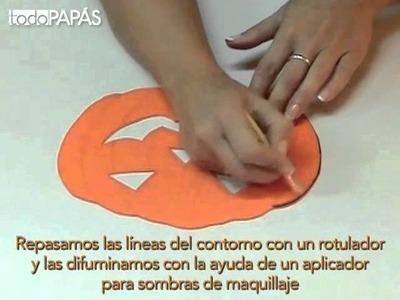 Cómo hacer una máscara para Halloween - Manualidades fáciles para niños