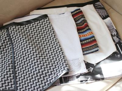CURSO. Aprender a coser faldas parte 3: Cortar la tela.
