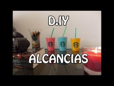 DIY ALCANCIAS PARA DECORAR FÁCIL Y BONITAS, RECICLAR VASOS DESECHABLES
