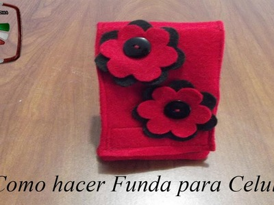 DIY: COMO HACER FUNDA PARA CELULAR