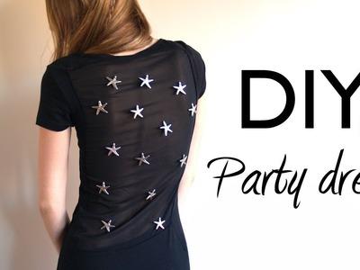 DIY: Vestido de fiesta 'last minute'