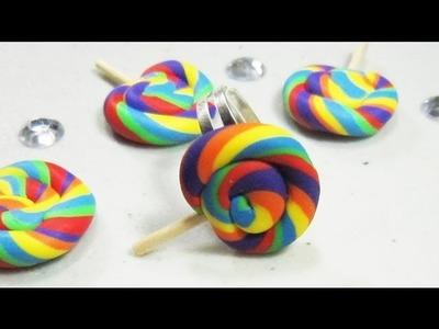 Episodio 559- Cómo hacer una anillo de piruleta o paleta con arcilla