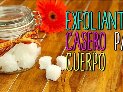 Exfoliante Casero para Cuerpo y Manos - En Cubitos - Exfoliante Natural
