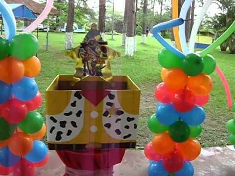Globo_Fiesta ''Una fiesta sin decoración es una simple fiesta'' _Toy Story