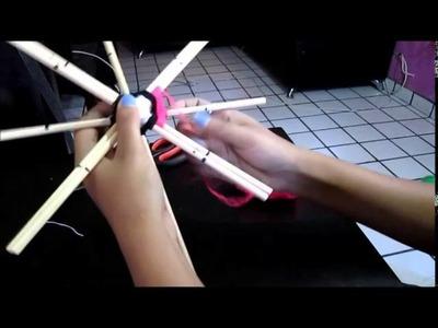 MANDALA TEJIDO 4 fases-8 puntas.(tutorial)