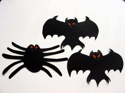 Manualidades para Halloween - móvil de murciélagos - Manualidades para todos