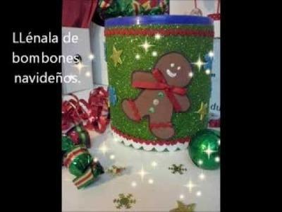 Navidad : haz una lata de galletas