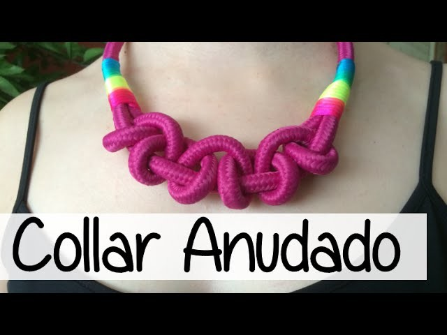 NUEVO COLLAR ANUDADO - KNOTTED NECKLACE