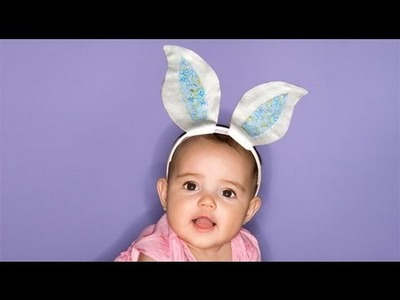 Orejas de conejo para disfraz, manualidades en Carnaval
