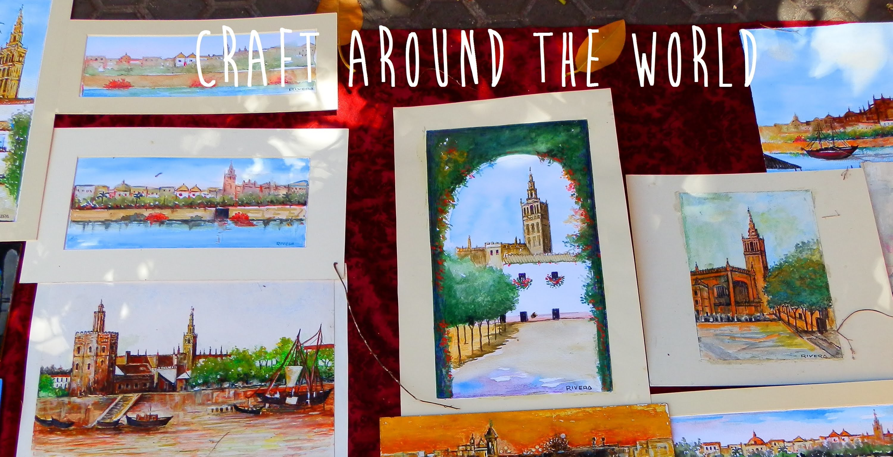 PASEO DE LA O Y PLAZA DEL MUSEO (Sevilla, España) - CRAFT AROUND THE WORLD