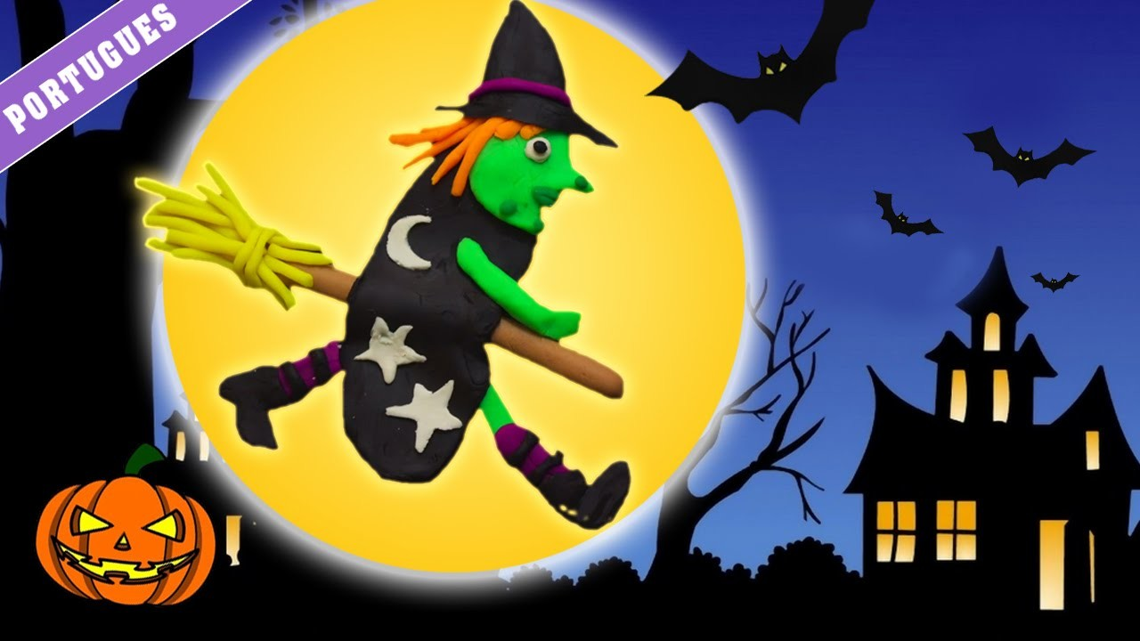 Play Doh – Witch | Bruja de Plastilina | Halloween Play Doh Witch (How To) - Spanish |