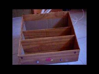 Porta Documentos de Cartón