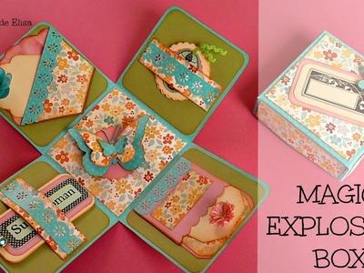 Regalos para el Día de la Madre, Caja Mágica Explosiva, Magic Explosion Box, Magic Box
