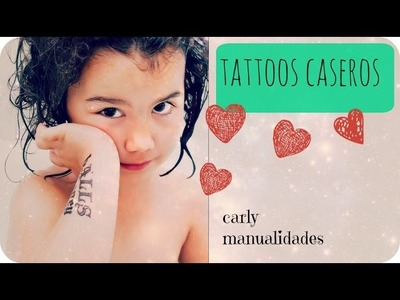 Tatuajes caseros super fáciles