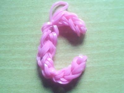 ♥ Tutorial: letra C hecha con gomitas ♥