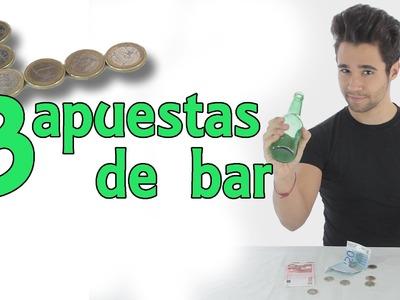 3 apuestas con dinero para ganar dinero - Apuestas de bar (Experimentos Caseros)