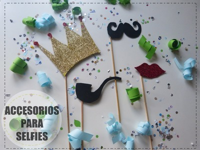 Accesorios para selfies [Kit de fiesta para Nochevieja]