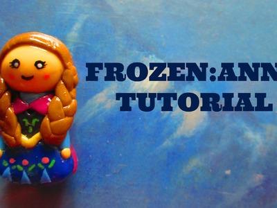Anna de Frozen: Porcelana Fria. Arcilla Polimerica Tutorial