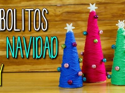 Arboles de Navidad Originales -  Fácil DIY - Manualidades de Navidad
