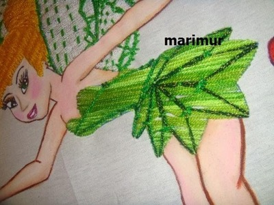 Bordado Fantasia Vestido Ada Campanita  marimur  417