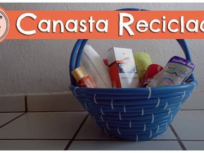 CANASTAS RECICLADA ~ MariquisTuts ★